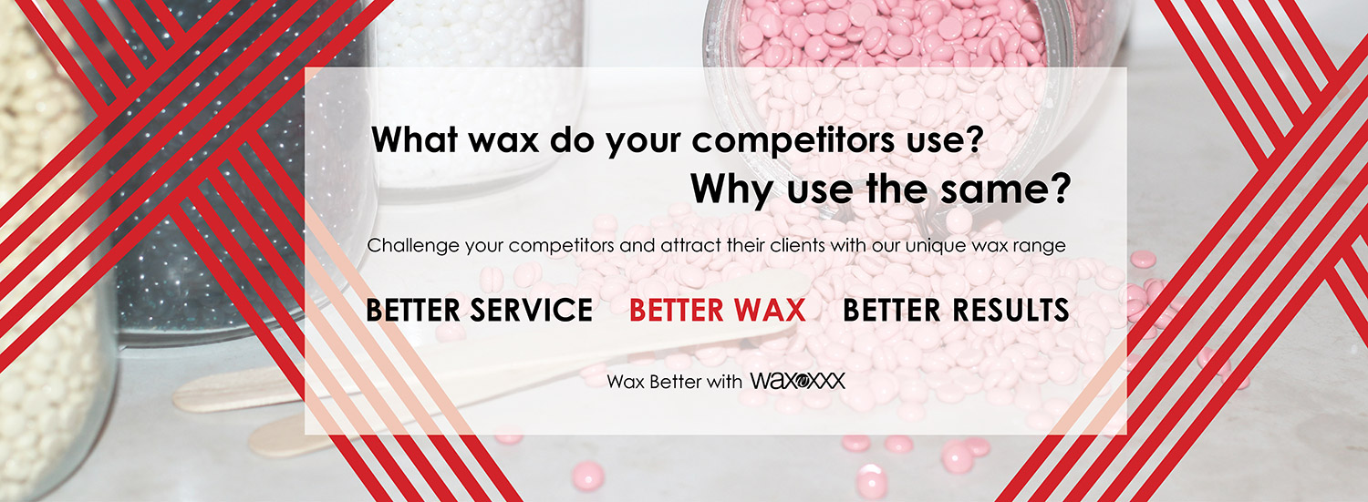 Unique wax products range