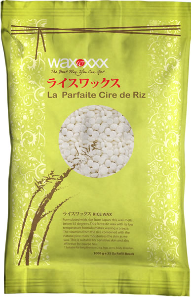 Rice hot wax