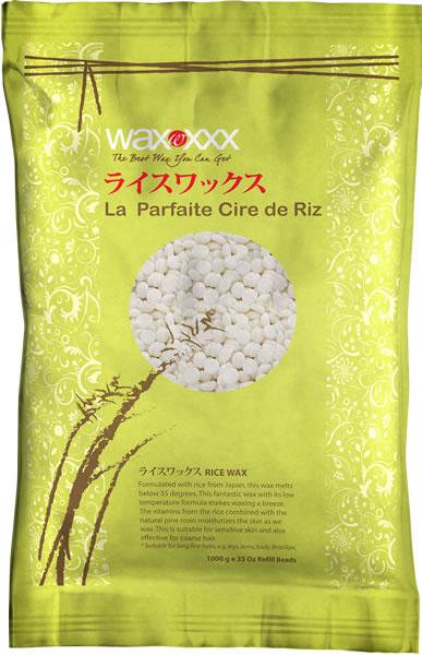 Rice hot wax