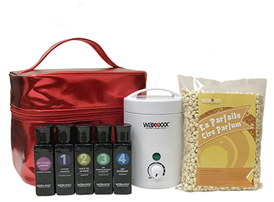 Home Pro travel waxing kit
